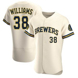 Devin Williams Milwaukee Brewers Men's Authentic Home Jersey - Cream